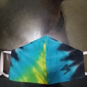 Tye dye mask large